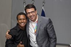 Presidente-Daniel-Mendez-e-o-jovem-Daniel-Assunção-Turma-2017